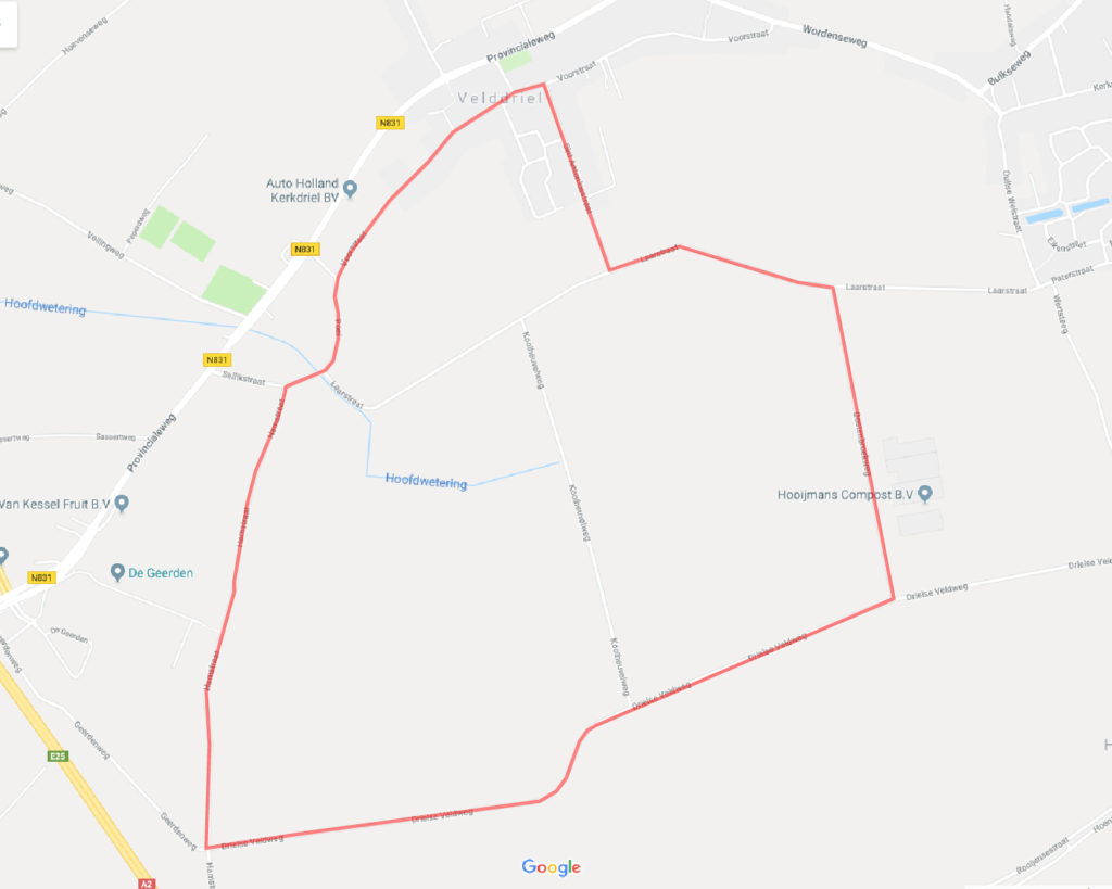 route TT Velddriel